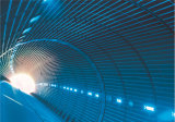 HDPE Waterdicht makend die Membraan in Tunnel wordt gebruikt