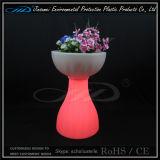 POT di fiore della mobilia del giardino del LED