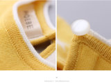 Cotton semplice Girls Clothes Girl Sweater per Autumn