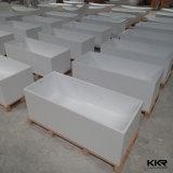 Bañera superficial sólida de piedra artificial de Kingkonree