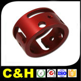 Peça de giro do CNC da peça da parte Al7075/Al6061/Al2024/Al5051 de alumínio de alumínio