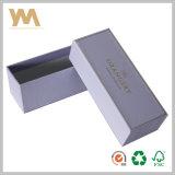 Rectángulo de papel de empaquetado del regalo del chocolate cosmético de la cartulina