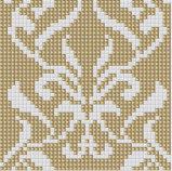Картина цветка плитки мозаики кристаллический стекла искусствоа стены (PT027)