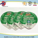 cubierta plástica disponible del papel de aluminio de la taza 220ml para el yogur
