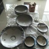 管のエンドキャップのステンレス鋼の皿に盛られたヘッドタンクヘッド