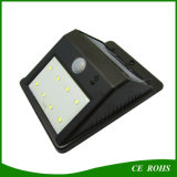 IP65 LED de la pared solar Yard Wall Lights Sound Sensor Spot Light