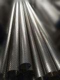 De roestvrij staal Geperforeerde Pijp van de Geluiddemper voor het AutoSysteem van de Uitlaat