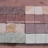 Pavimentadores coloridos baratos chinos de la piedra arenisca