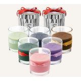 Velas perfumadas del nuevo diseño superventas en el tarro de cristal y el rectángulo de regalo hecho a mano