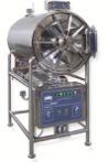 Sterilizer cilíndrico horizontal do vapor da pressão de HS-150c
