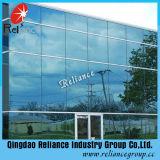 vidrio reflexivo azul de 5mm/5.5mm/6m m Ford para el edificio