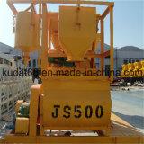 500L eléctrica de dos mezcladores horizontales Ejes (JS500)