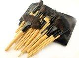 24 balais en bois portatifs de renivellement de traitement d'Orignal d'outil cosmétique de parties