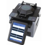 Einfache Opreation Faser-Schmelzverfahrens-Filmklebepresse der hohen Präzisions-Singlemode Dvp-730 FTTH, Faser-verbindene Optikmaschine
