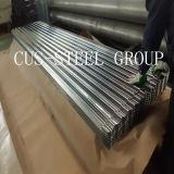 Telhadura do metal/folha de aço galvanizadas do telhado ferro ondulado