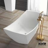 Baignoire autonome extérieure solide moderne de vente chaude 170104 de salle de bains