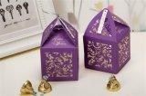 Caja de regalo Wedding cortada con tintas del estilo