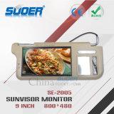Moniteur de TFT LCD moniteur de véhicule du pare-soleil de Sun de 9 pouces DEL avec la carte SD et l'USB (SE-2005)