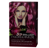 3D Briliant Sparkle Colorido Hight Light Hair Dye