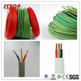 Fábrica profissional para o fio e o amarelo/verde de terra elétrico