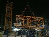 10tonモデル6018トップレスのタワークレーンの構築のタワークレーン