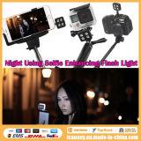 Selfie 지팡이 Monopod를 위한 Iblazr LED 저속한 빛