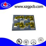tarjeta de circuitos impresos del espesor de la tarjeta de 0.3m m con Adhensives de alta temperatura