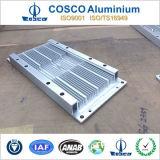 Extruido disipador de calor de aluminio con ISO9001 y TS16949 certificado