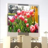 Diodo emissor de luz P16 ao ar livre que anuncia a tela de indicador do quadro de avisos