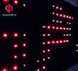 2016 ha personalizzato schermo flessibile programmabile della tenda dello schermo LED di P15cm LED il video