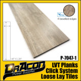 Fashion Design lâche Lay Tile Vinyl Plank (P-7047)