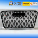 Black Car Front Grill (Chromed Logo) pour Audi RS7 2013 ""
