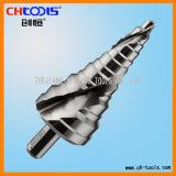 Étape Drill avec Spiral Flute (SSAS)
