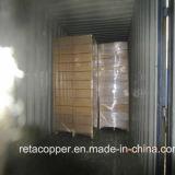 Tubo de cobre con impreso