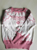 Besatzung Neck Wool Knitting Sweater für Little Girls/Children