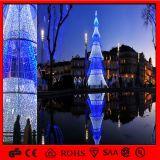 Les lumières de Noël légères du film publicitaire LED de vacances chauffent des lumières d'arbre de Noël de LED