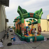 Inflatable esterno Happy Clown Combo Obstacle Course per Kids da vendere