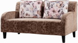 Античная софа Fbric места влюбленности типа Cum кровать с деревянными ногами (SF1210)