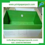 Duas partes de caixa de papel rígida de embalagem do cartão/caixa de presente