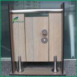 Pattes de support de compartiment de toilette d'acier inoxydable