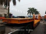 Vijf Aanhangwagen van de Vrachtwagen van de Lading van de Lader van het Dek van de As Lowbed/de Lage Lage
