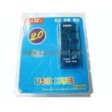 携帯用USB 2.0 4ポートのハブドライバー