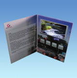 Affissione a cristalli liquidi Book dell'affissione a cristalli liquidi Video Card/TFT Video Brochure per Promotion