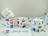 Taza de cerámica ideal con diverso diseño