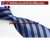 Relation étroite de la cravate des hommes en soie tissés par jacquard classique de relation étroite de polyester (T8033)