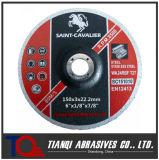 Inox 6 ' X1/8'x7/8를 위한 디스크를 자르는 Arasive 디스크