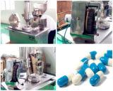 Mini máquina de enchimento da cápsula do laboratório Semi auto