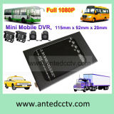 School Bus Car Truck Vehicle Monitoring Systemのための4チャネルFull 1080P Mobile DVR