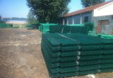 100*100mm PVC에 의하여 입히는 용접된 철망사 위원회