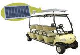Carrello di golf elettrico con il comitato solare, colore giallo 6-Seater